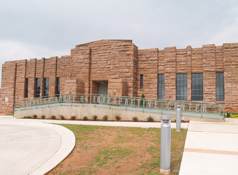 The Route 66 Interpretive Center is housed in the historic Chandler Armory.