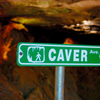 Visitors can tour the world's largest natural gypsum cave open to the public at Alabaster Caverns State Park near Freedom.