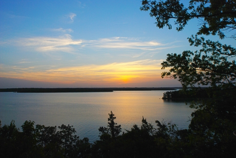 Lake Murray State Park in Ardmore is Oklahoma's oldest and largest state park.