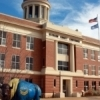 "The impressive Beckham County Courthouse, built in 1911, gained fame with a cameo appearance in ""The Grapes of Wrath."""