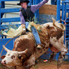 Bull riding is one of the most exciting events at the International Finals Youth Rodeo in Shawnee.