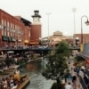 Bricktown, located in downtown Oklahoma City, features dining, clubbing and shopping.  Enjoy restaurants, dance clubs and more in historic brick warehouses perched along the edge of the canal which meanders through the area.
