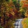 Highway 63 in southeastern Oklahoma offers an off-the-beaten-path scenic drive which is especially beautiful in the fall.