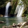 Turner Falls in Davis offers visitors the opportunity to hike, camp, swim, wade and relax.