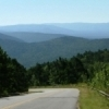 A gorgeous view greets you as you descend from each summit along the Talimena Skyline Drive.
