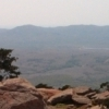 The rocky top of Mount Scott is a fabulous vantage point for viewing the rugged terrain of the Wichita Mountains.