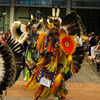 American Indian dancers at the Powwow of Champions in Tulsa.