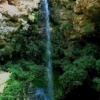 Natural Falls State Park near West Siloam Springs in northeastern Oklahoma showcases this pretty 77-foot cascade.