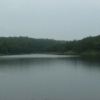 The overcast skies added to the serenity of the lake at Osage Hills State Park on this sleepy afternoon.