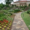The Philbrook Museum of Art in Tulsa is located in an Italian-style villa and is surrounded by manicured gardens.