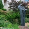The grounds of the Philbrook Museum in Tulsa are filled with priceless works of art among the carefully tended gardens.