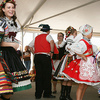 Young people perform traditional Czech dances during the annual Czech Festival in Yukon.