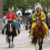 The Red Earth Parade twists through Oklahoma City as it opens the Red Earth Festival each year.