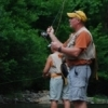 Trout fishing is a popular pastime on the Mountain Fork River at Beavers Bend State Park in southeastern Oklahoma.