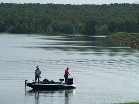 "Dripping Springs Lake near Okmulgee was the first Oklahoma lake designated as a ""trophy bass lake."""