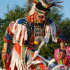 American Indian dance demonstrations are part of the festivities at the annual Magnolia Festival in downtown Durant, which draws approximately 20,000 visitors each year.