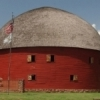 The Round Barn in Arcadia is a popular roadside stop on Route 66.