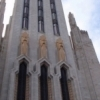 The Boston Avenue United Methodist Church is renowned for its Art Deco architecture.  This historic structure is included in the walking tour of Tulsa's Art Deco treasures.