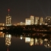 The Tulsa skyline lights up vibrantly with the abundant nightlife that surrounds the downtown area.