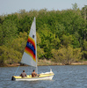 Sailing is a popular pastime on Oklahoma City's Lake Hefner.