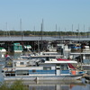 The marina at Lake Thunderbird State Park in Norman offers a variety of boating services.