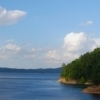Broken Bow Lake is a beautiful spot in southeastern Oklahoma for water recreation of every sort.  Lushly wooded hills surround the clear blue waters of the lake making it a scenic wonder.