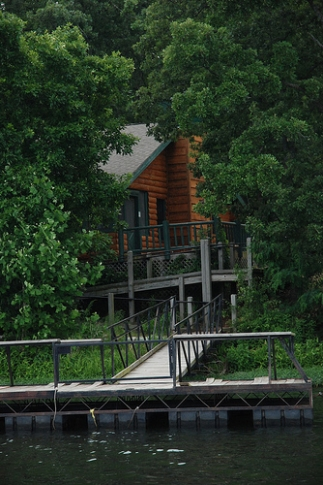 "This handicap-accessible cabin at Greenleaf State Park helps those with physical challenges get outdoors and enjoy the park.  Ask about the ""Cabin on the Lake"" to learn more."