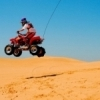 Get your adrenaline flowing at Little Sahara State Park near Waynoka.  Bring your own ATV and ride the dunes.
