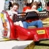 Carnival rides thrill the whole family at the Rooster Days Festival in Broken Arrow.