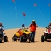 Little Sahara State Park near Waynoka is a haven for ATV riders.  With 1,600 rideable acres of towering sand dunes, there's plenty of room to throttle up and let your adrenaline pump.