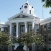 The Love County courthouse in Marietta was the first one built after statehood in 1907.