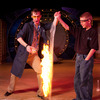 Science Live is an exciting program at Oklahoma City's Science Museum Oklahoma.  Explosive science demonstrations, explaining chemical and physical reactions, are as entertaining as they are educational.