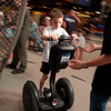 Riding a Segway personal transporter is a fun and futuristic activity at Science Museum Oklahoma in Oklahoma City.