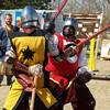 The Medieval Fair in Norman features a variety of entertainment including jousting tournaments, sword fights and human chess games.