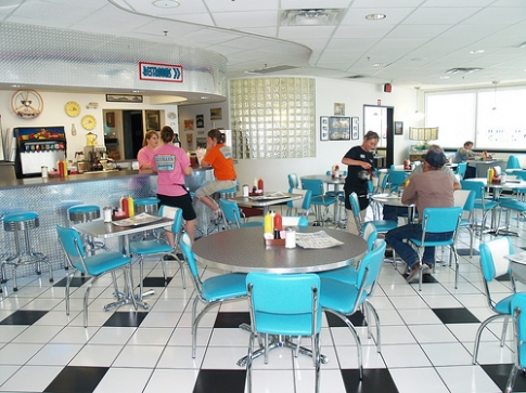 Lucille's Roadhouse Lounge is a retro-themed diner along Route 66 in Weatherford.  Stop in for a meal or a tasty treat and a dose of nostalgia.
