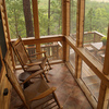 Enjoy relaxing on the back deck of your cabin overlooking the Upper Mountain Fork River when you stay at Rivers Edge Cottages in Watson.  These well-appointed cabins are a perfect hideaway for a romantic retreat.