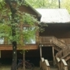 Bear Cottage is one of the 12 cabins available at Rivers Edge Cottages on the Upper Mountain Fork River in Watson.