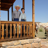 Let Bob and Jane Apple host you at their authentic 100-year-old working ranch in Kenton, located in the Cimarron Valley surrounded by rugged mesas.  Stay in their ranch home or this log cabin and enjoy horseback riding and helping with ranch work.