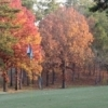 The Cedar Creek Golf Course at Beavers Bend State Park is an idyllic setting for a fall day on the links.