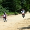 Dirt bike enthusiasts enjoy the 10 miles of trails at the Lake Murray State Park ATV area in Ardmore.  Three- and four-wheel vehicles are also welcome to take a spin around the variety of trails.