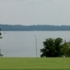 This hole on the Sequoyah State Park Golf Course offers a view of Fort Gibson Lake.  The 18-hole, par 70 course also features a pro shop, club and cart rental, gift shop and snack bar.