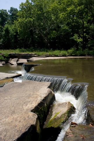 Fishing and swimming opportunities abound in the scenic waters of Sand Creek which runs through Osage Hills State Park in Pawhuska.