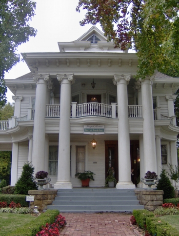 The historic Hayes House Bed & Breakfast has two luxurious suites where travelers can relax and soak up the Southern comforts offered by this charming Muskogee inn.
