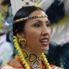 Producing the intricately beaded regalia items like those of this Northern Traditional Dancer takes untold hours of work. The regalia may be made by contestants and their families, given as gifts or produced by professionals.