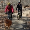 The mountain bike trails at Turkey Mountain Urban Wilderness Area are often ridden in loops, from 45 minutes to two hours in length.