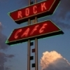 "The Rock Cafe is a Route 66 icon found in most international Route 66 guidebooks.  The diner is so synonymous with Route 66 that the owner Dawn Welch served as inspiration for the character Sally Carrera in the popular Disney/Pixar animated film, ""Cars."""