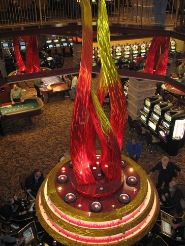 The Grand Casino Hotel Resort in Shawnee offers over 1,800 of the most popular slot machines in an elegant atmosphere.