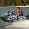 Jet skiing and other water sports are popular pastimes at Grand Lake in northeast Oklahoma.