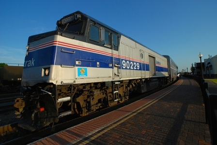 The AMTRAK Heartland Flyer offers rail service from Oklahoma City to Fort Worth, TX with stops in Norman, Purcell, Pauls Valley and Ardmore.