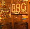 Bad Brad's Bar-B-Q Joint in Pawhuska serves up authentically delicious barbecue in a rustic atmosphere filled with Western memorabilia.